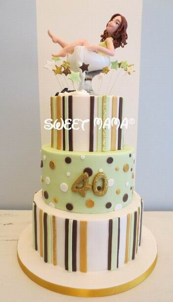 Torte compleanno adulti - Sweet Mama Milano - Cake Design ...