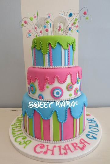 Torte Compleanno Bambini Sweet Mama Milano Cake Design Bakery