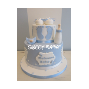 Torte Battesimo E Baby Shower Sweet Mama Milano Cake Design