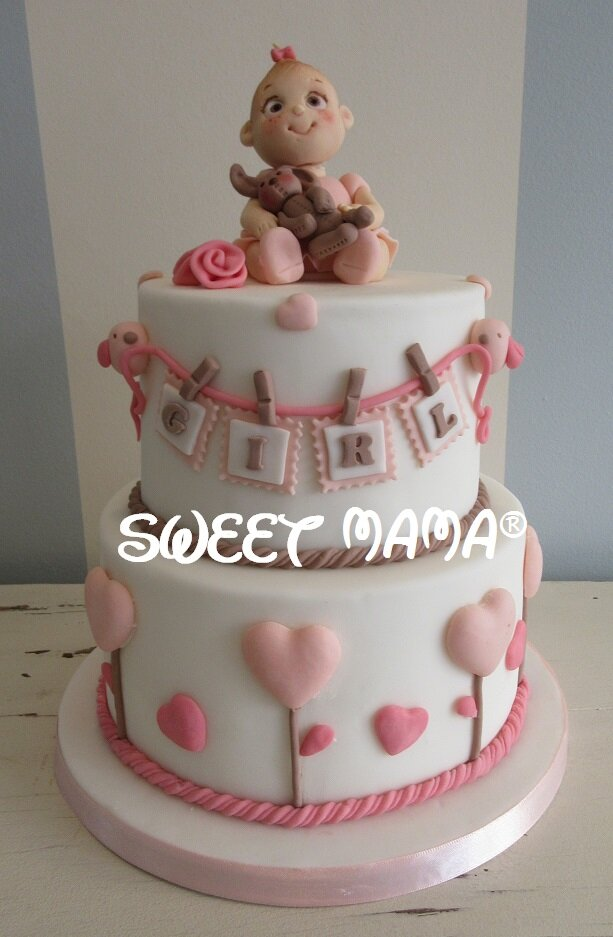 Torte Battesimo e Baby Shower - Sweet Mama Milano - Cake ...