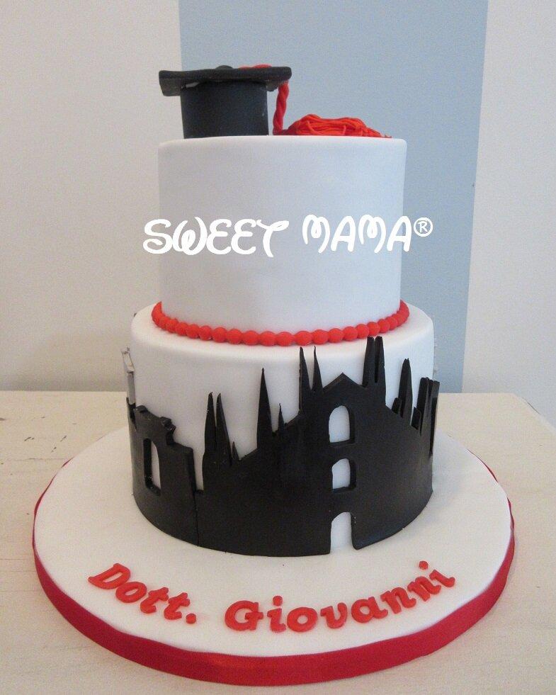 Torte Cake Design Milano : Torte di Laurea - Sweet Mama Milano - Cake Design - Bakery ...